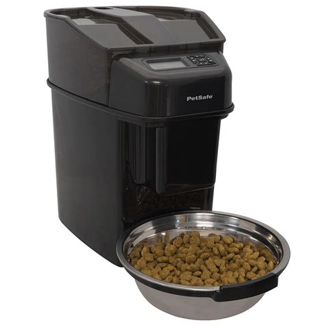 automatic pet feeder healthy pet simply feed 12 meal automatic pet feeder by