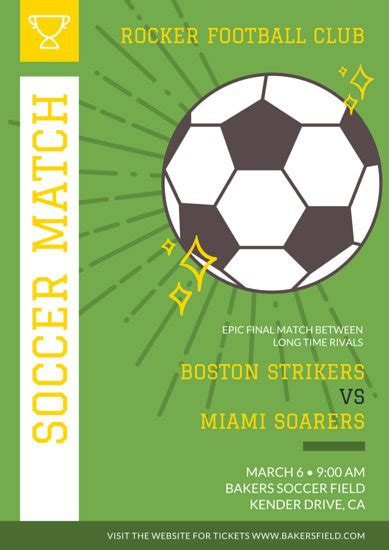 soccer poster templates canva