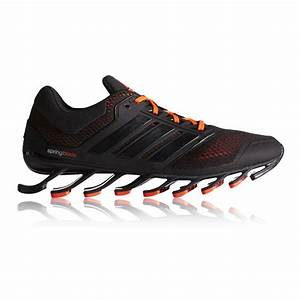 Adidas Springblade Drive Mens Black Breathable Cushioned ...