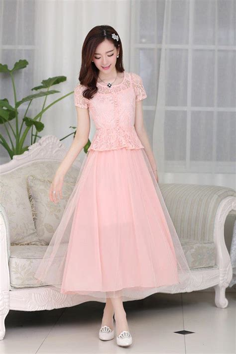 long dress pesta brokat cantik model terbaru jual