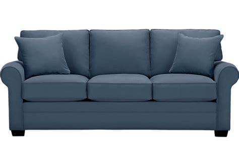 Accent Arm Chairs by Cindy Crawford Home Bellingham Indigo Sleeper Sleeper