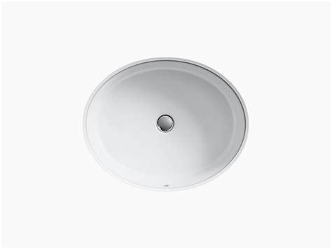 Kohler Verticyl Oval Undermount Sink by K 2881 Verticyl Undermount Oval Sink Kohler