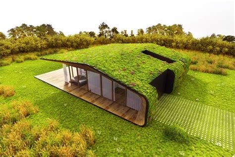 Haus Mit Grasdach by Green Roof Design By Based Firm On A Architects