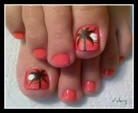 Palm tree nail art gallery nails