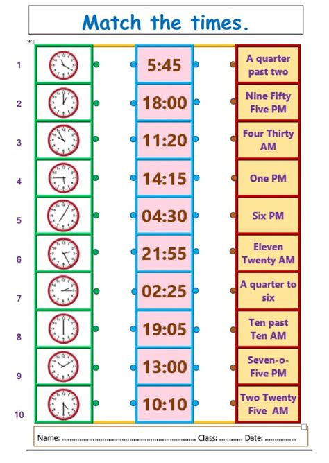 hours interactive  downloadable worksheet check
