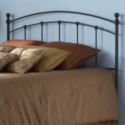 fashion bed sanford metal king matte black finish headboard