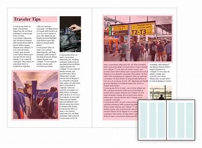 Layout Magazine Column Grid Magazines Graphic Grids