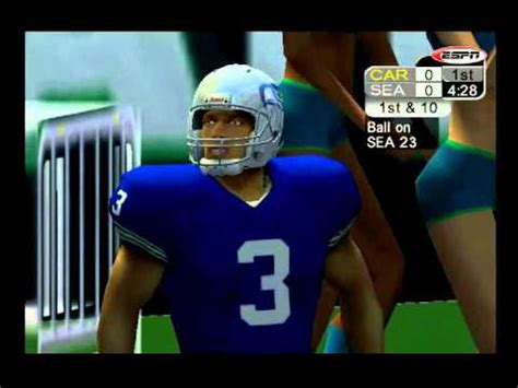 espn nfl  ps  seahawks  panthers youtube