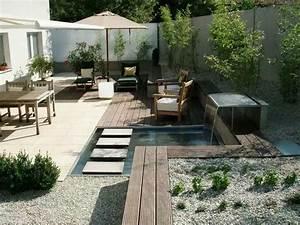 Kleine Gärten Ohne Rasen : kleiner garten mit wasser g rtner von eden backyard ~ Watch28wear.com Haus und Dekorationen