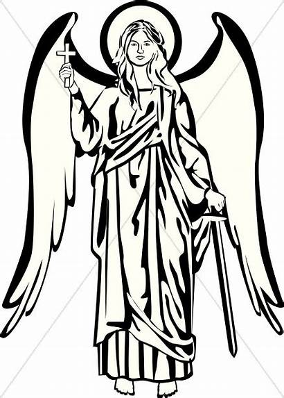 Angel Clipart Heaven Prayer Sharefaith Clipartmag Graphics