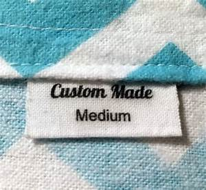 30 custom made fabric clothing labels iron on sew on labels With custom made fabric labels