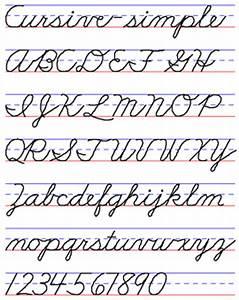 Examples of Handwriting Styles | Handwriting styles ...