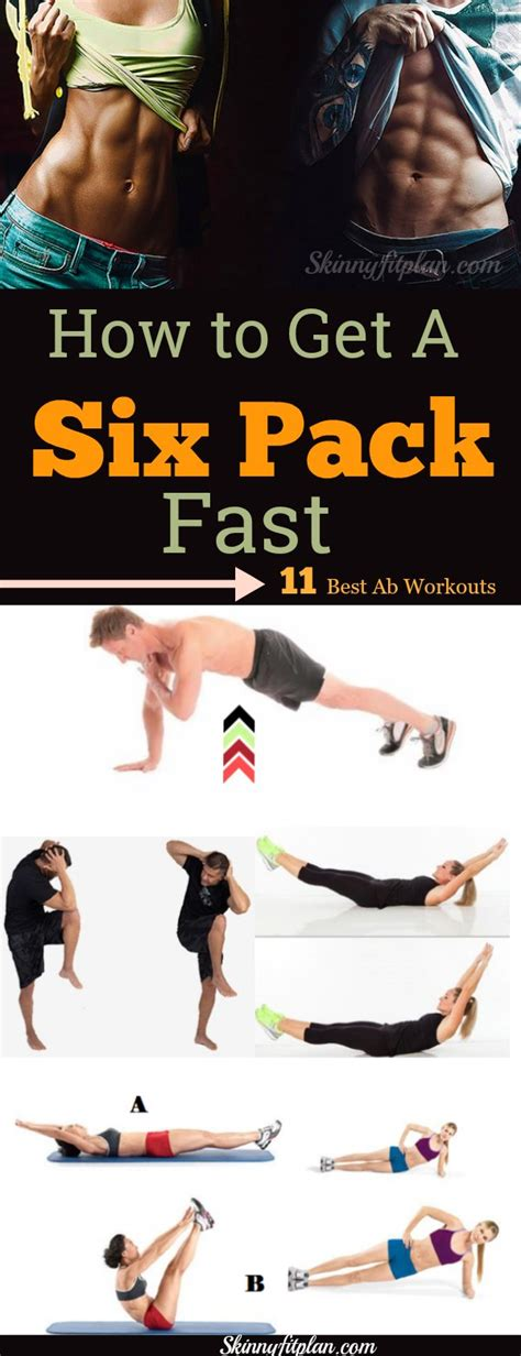 Best Ab by How To Get A Six Pack 11 Best Ab Workouts Skinnyfitplan