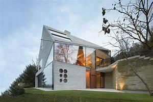 Haus Aus Glas : nur glas und d mmbeton moderne einfamilienh user ~ Lizthompson.info Haus und Dekorationen