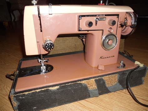 Vintage Sears Kenmore Sewing Machine In Cabinet by Pin By Leslie Keeslar On Antique Sewing Machines Pinterest