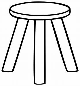 Clipart Black And White Table - ClipArt Best