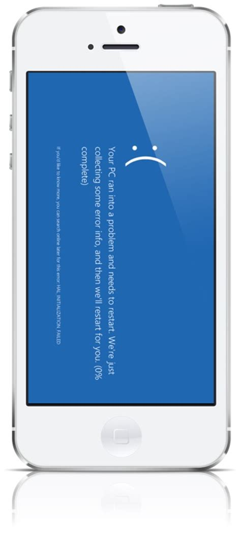 blue screen on iphone how to fix iphone 5s blue screen error of bsod