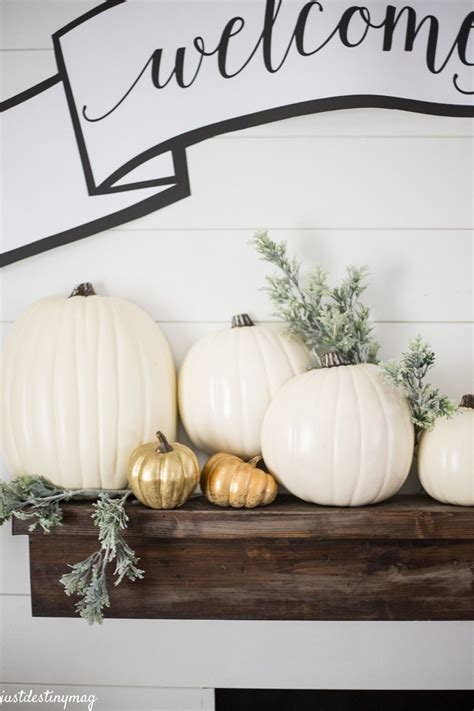 welcome fall 8 ideas for bringing fall decor into your home modern home decor