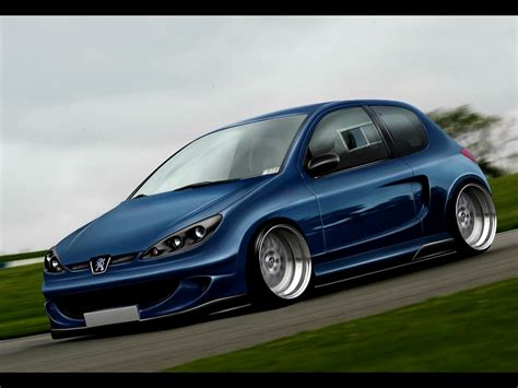 Peugeot Wallpapers by Peugeot 206 Wallpapers Hd