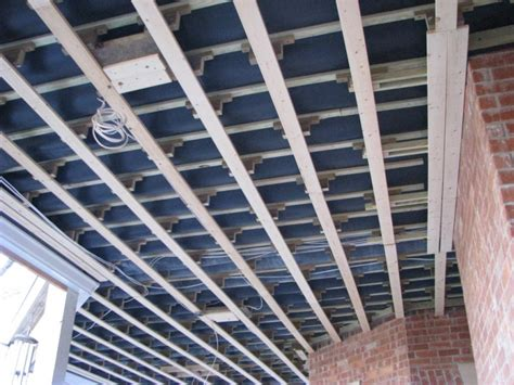 underside construction dekdrain  deck waterproofing