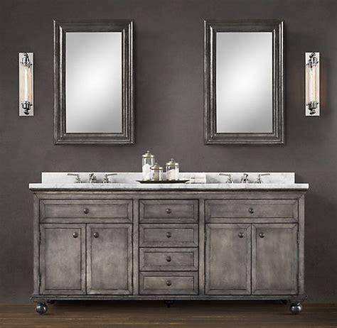 Restoration Hardware Bathroom Vanity 60 by Best 25 Vanity Sink Ideas On Vintage Bathroom
