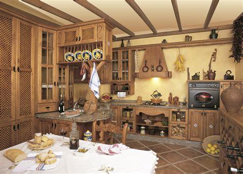 cocinas rusticas principales caracteristicas cocinas
