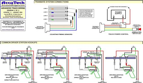 Slot Car Track Wiring Diagram by Track Wire Diagram