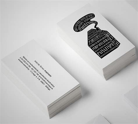business card designs  architects part