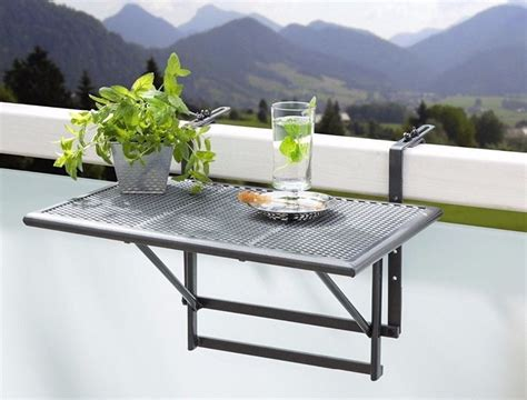 Small Folding hanging Table, for balcony, patio, garden