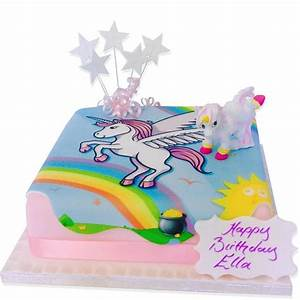 Unicorn Birthday Cake, Order Online from The Brilliant Bakers