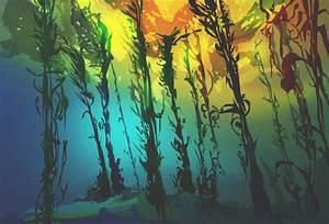 Kelp Forest by MarginallyFlailing on DeviantArt