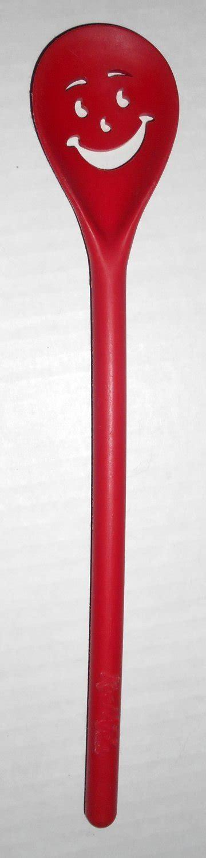 sold kool aid soft drink red color plastic stirrer
