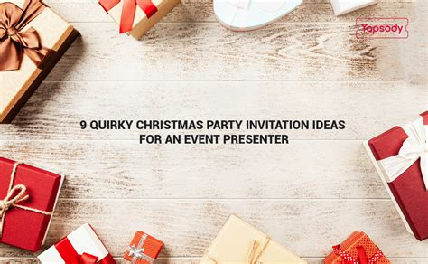 9 Quirky Christmas Party Invitation Ideas Yapsody Blog