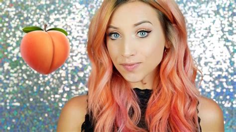 How To Get Peachy + Rose Gold Hair Color