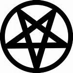 Pentagram Halloween Shapes Star Satan Pentagon Icon