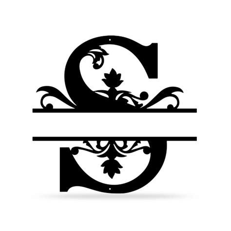 split letter  monogram realsteel center