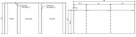 rona comptoir de cuisine construire un comptoir de travail 1 rona