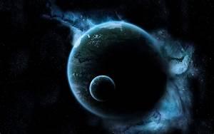 Fondo de pantalla Planetas Oscuras HD