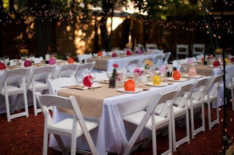 Backyard Wedding Reception Menu » Backyard And Yard Design