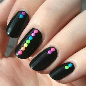 30 Easy Nail Designs for Beginners | Easy, Makeup and Nail ...