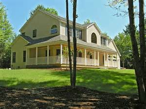 colonial house style colonial style home new