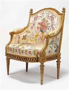 a royal louis xvi giltwood fauteuil en berg 232 re which was