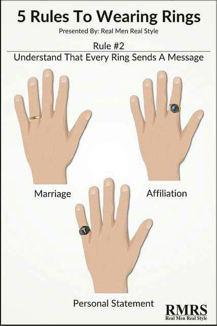 5 rules to wearing rings accessories how to wear rings mens fashion men style tips