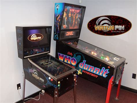 build your own pinball cabinet