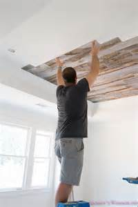 bathroom wood ceiling ideas our reclaimed weathered wood stikwood ceiling 39 s