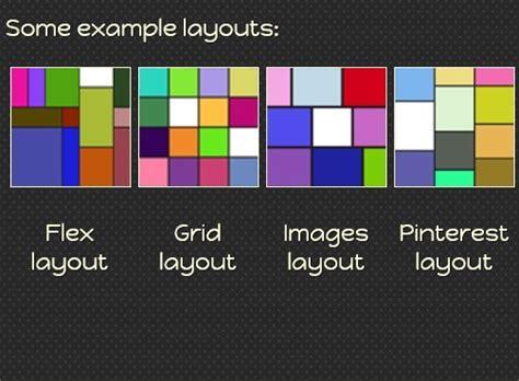 responsive jquery dynamic grid layouts plugin freewall