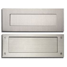 door mail slot mail slots for wall or door residential mailbox 3429