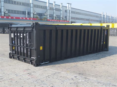 Open Top Half Height Shipping Containers  Heavyduty