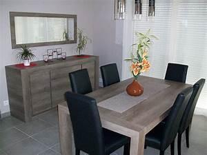 elegance bois artisan createur cuisine salle de bain With salle À manger contemporaineavec ensemble salle À manger