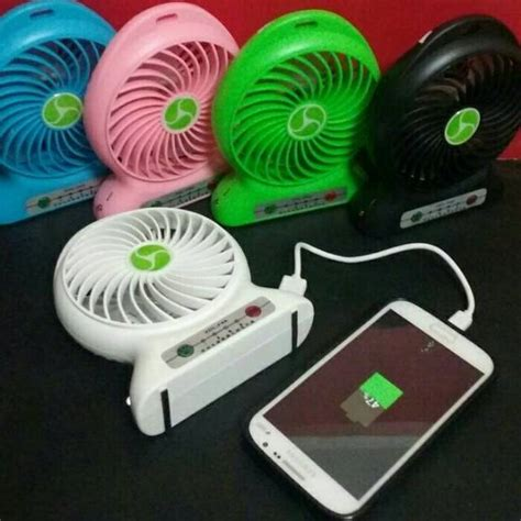 power bank kipas kipas angin mini portable mini fan